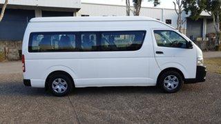2010 Toyota HiAce TRH223R MY07 Upgrade Commuter White 5 Speed Manual Bus.