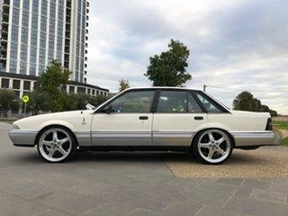 1987 Holden Calais VL Turbo White 4 Speed Automatic Sedan