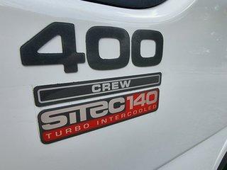 2003 Isuzu NPR 400 Service Body White Dual Cab