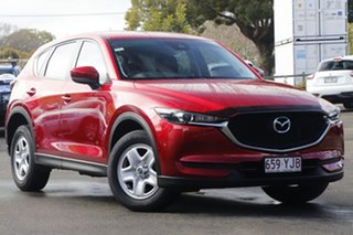 2017 Mazda CX-5 KF2W7A Maxx SKYACTIV-Drive FWD Red 6 Speed Sports Automatic Wagon.