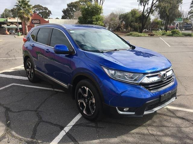 Used Honda CR-V RW MY18 VTi-S FWD Yarrawonga, 2018 Honda CR-V RW MY18 VTi-S FWD Blue 1 Speed Constant Variable Wagon
