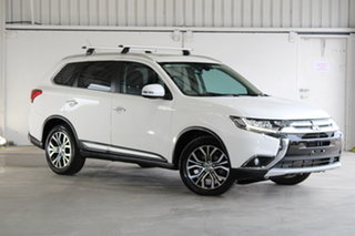 2015 Mitsubishi Outlander ZK MY16 Exceed 4WD White 6 Speed Sports Automatic Wagon.