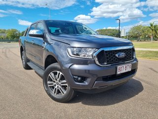 2021 Ford Ranger PX MkIII 2021.25MY XLT Meteor Grey 6 Speed Sports Automatic Double Cab Pick Up.