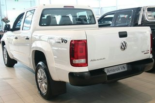 2021 Volkswagen Amarok 2H MY21 TDI550 4MOTION Perm Core Candy White 8 Speed Automatic Utility.