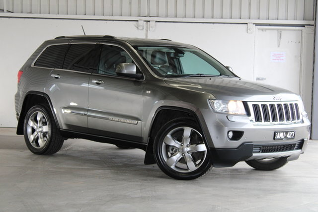 Used Jeep Grand Cherokee WK MY2012 Limited Laverton North, 2012 Jeep Grand Cherokee WK MY2012 Limited Grey 5 Speed Sports Automatic Wagon