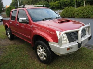 2007 Holden Rodeo RA MY07 LT (4x4) Sports Pack Red 4 Speed Automatic Crew Cab Pickup