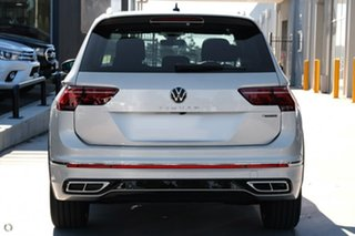2021 Volkswagen Tiguan 5N MY21 162TSI R-Line DSG 4MOTION Silver 7 Speed Sports Automatic Dual Clutch.