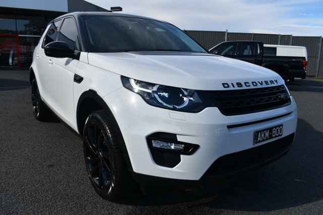 Used Land Rover Discovery Sport L550 16.5MY SE Wantirna South, 2016 Land Rover Discovery Sport L550 16.5MY SE White 9 Speed Sports Automatic Wagon