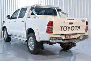 2014 Toyota Hilux KUN26R MY14 SR5 Xtra Cab White 5 Speed Manual Utility