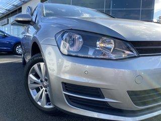 2015 Volkswagen Golf VII MY16 92TSI DSG Comfortline Tungsten Silver 7 Speed.