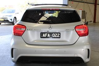2015 Mercedes-Benz A-Class W176 806MY A45 AMG SPEEDSHIFT DCT 4MATIC Silver 7 Speed