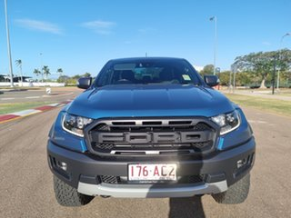 2021 Ford Ranger PX MkIII 2021.25MY Raptor Performance Blue 10 Speed Sports Automatic.