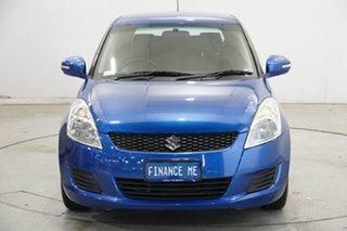 2011 Suzuki Swift FZ GL Blue 4 Speed Automatic Hatchback.