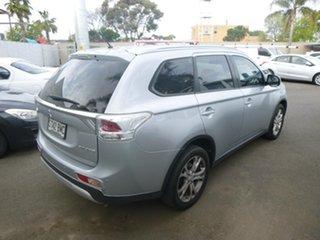 2014 Mitsubishi Outlander ZJ MY14.5 ES 4WD Silver 6 Speed Constant Variable Wagon.