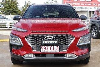 2018 Hyundai Kona OS MY18 Elite 2WD Red 6 Speed Sports Automatic Wagon.