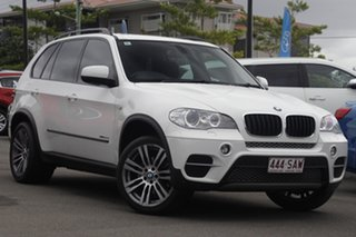 2011 BMW X5 E70 MY12 xDrive30d Steptronic White 8 Speed Sports Automatic Wagon.