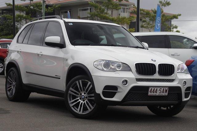 Used BMW X5 E70 MY12 xDrive30d Steptronic Mount Gravatt, 2011 BMW X5 E70 MY12 xDrive30d Steptronic White 8 Speed Sports Automatic Wagon