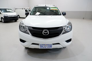 2015 Mazda BT-50 UR0YD1 XT 4x2 Hi-Rider White 6 Speed Sports Automatic Cab Chassis.