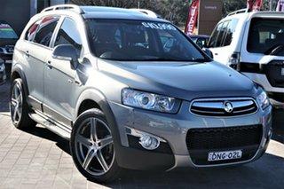 2011 Holden Captiva CG MY10 LX AWD Grey 5 Speed Sports Automatic Wagon.