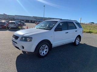 2008 Ford Territory SY MY07 Upgrade TX (RWD) White 4 Speed Auto Seq Sportshift Wagon.