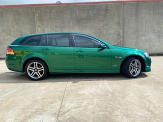 2011 Holden Commodore VE II SV6 Sportwagon Poison Ivy 6 Speed Sports Automatic Wagon.