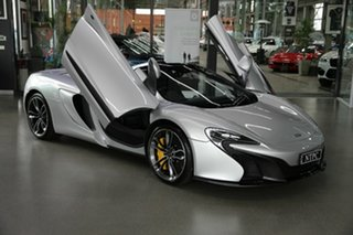 2016 McLaren 650S MY16 Spider SSG 7 Speed Sports Automatic Dual Clutch Convertible