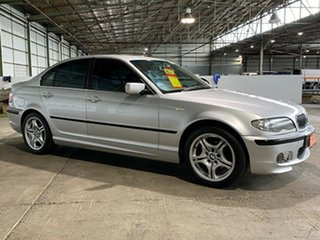 2002 BMW 320i E46 MY2002 320i Silver 5 Speed Manual Sedan.