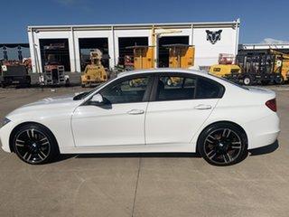 2013 BMW 3 Series F30 MY0413 316i White/310713 8 Speed Automatic Sedan