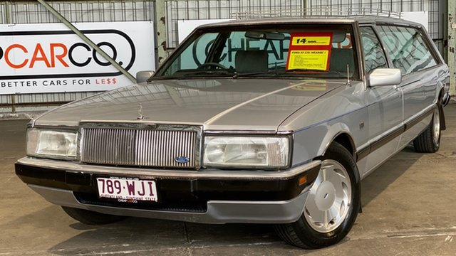 Used Ford Falcon XF GL Rocklea, 1987 Ford Falcon XF GL Silver 3 Speed Automatic Wagon