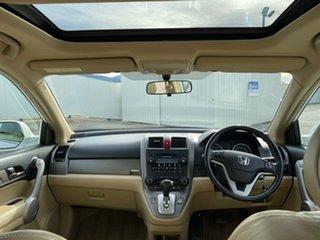 2007 Honda CR-V RE MY2007 Luxury 4WD White 5 Speed Automatic Wagon.