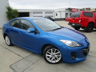 2013 Mazda 3 BL10L2 MY13 SP25 Activematic Blue 5 Speed Sports Automatic Sedan.