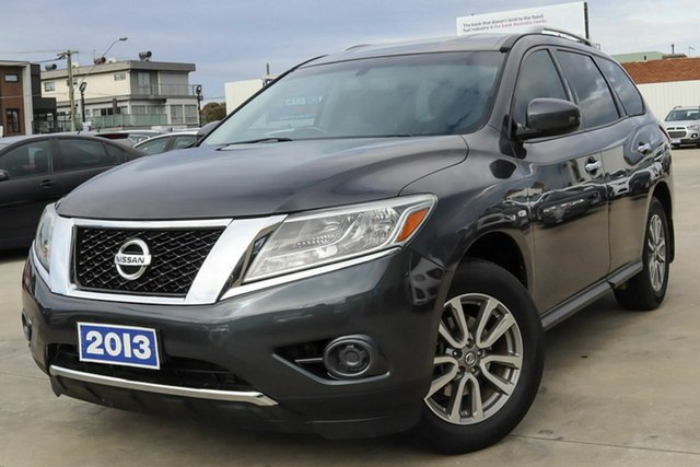 Used Nissan Pathfinder R52 MY14 ST X-tronic 2WD Coburg North, 2013 Nissan Pathfinder R52 MY14 ST X-tronic 2WD Grey 1 Speed Constant Variable Wagon