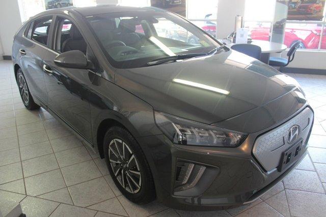 New Hyundai Ioniq AE.V4 MY21 electric Premium North Gosford, 2021 Hyundai Ioniq AE.V4 MY21 electric Premium Iron Grey 1 Speed Reduction Gear Fastback