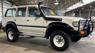 1995 Toyota Landcruiser HZJ80R DX White 5 Speed Manual Wagon.