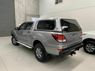 2018 Mazda BT-50 UR0YG1 XT Silver 6 Speed Sports Automatic Cab Chassis