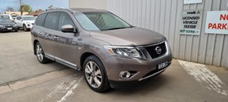 2013 Nissan Pathfinder R52 MY14 Ti X-tronic 4WD Grey 1 Speed Constant Variable Wagon.