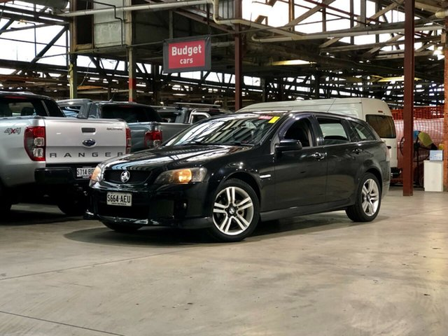 Used Holden Commodore VE MY09.5 SV6 Sportwagon Mile End South, 2009 Holden Commodore VE MY09.5 SV6 Sportwagon Black 5 Speed Sports Automatic Wagon