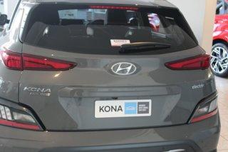 2021 Hyundai Kona Os.v4 MY21 electric Highlander Galactic Grey + Black Roo 1 Speed Reduction Gear.