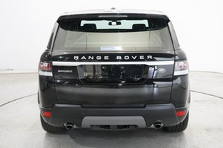 2016 Land Rover Range Rover Sport L494 16.5MY SE Black 8 Speed Sports Automatic Wagon