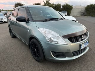2012 Suzuki Swift FZ GA Green 4 Speed Automatic Hatchback.