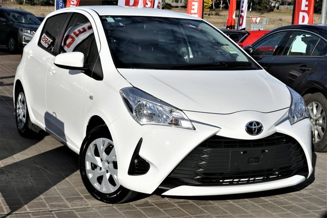 Used Toyota Yaris NCP130R Ascent Phillip, 2017 Toyota Yaris NCP130R Ascent White 4 Speed Automatic Hatchback