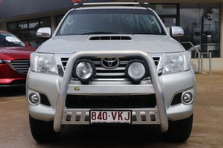 2014 Toyota Hilux KUN26R MY14 SR5 Double Cab Gold 5 Speed Automatic Utility.