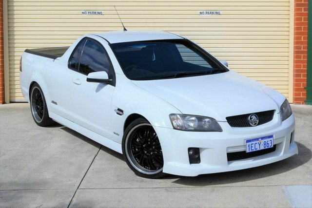 Used Holden Ute VE II SS Mount Lawley, 2010 Holden Ute VE II SS White 6 Speed Sports Automatic Utility