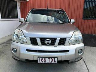 2009 Nissan X-Trail T31 MY10 TS Silver 6 Speed Sports Automatic Wagon.