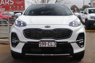 2021 Kia Sportage QL MY21 GT-Line AWD Snow White Pearl 6 Speed Sports Automatic Wagon.