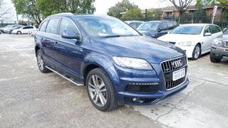 2010 Audi Q7 MY10 TDI Quattro Blue 6 Speed Sports Automatic Wagon.