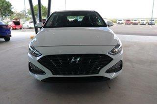 2021 Hyundai i30 PD.V4 MY21 Elite Polar White 6 Speed Sports Automatic Hatchback.