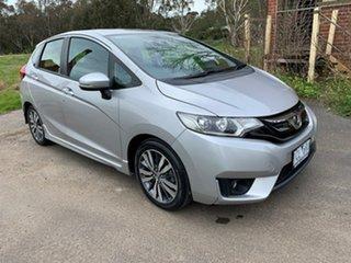 2014 Honda Jazz GF VTi-S Silver Constant Variable Hatchback.