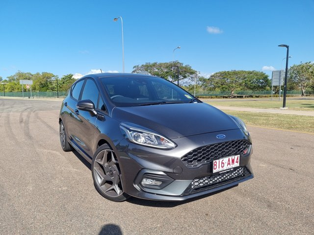Used Ford Fiesta WG 2021MY ST Townsville, 2020 Ford Fiesta WG 2021MY ST Magnetic 6 Speed Manual Hatchback