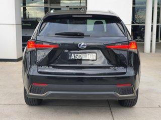 2018 Lexus NX AYZ15R NX300h E-CVT AWD F Sport Black 6 Speed Constant Variable Wagon Hybrid